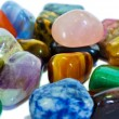 Colorful stones closeup (isolated) — Stock Photo #27689071