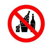 No hay rastro de alcohol y el cigarrillo — Foto de Stock