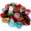 Colorful Stones (isolated) — Stock Photo
