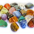Colorful Stones isolated — Stock Photo #28074547