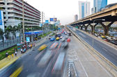 Snelweg speedline-statica en dynamiek — Stockfoto