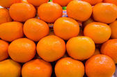 Mandarin orange on sales — Stockfoto