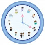 Clock of Life (blue version) — Stock Vector #29174947