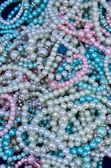 Pile of Pearl Bracelets — Stock Photo