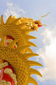 Chinese Dragon is reaching the sky — Stock Photo