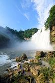 Beautiful waterfall in guiyang — Stock Photo