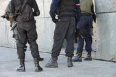 Police special forces in action — Stock Photo