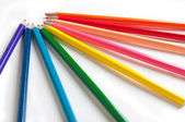 Isolated colored pencils — Stock Photo