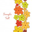 Collection of decorative floral banners. — Stock Vector