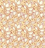 Dekorativní květinový vzor, barevné pozadí abstraktní s řádky křídel. lze použít pro tapety, webové stránky, karty, umění, drsnosti, oblečení ornamenty — Stock vektor