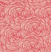 ткани мебельно-декоративные цветочные бесшовный фон. декоративные кружева фон с розами — Cтоковый вектор