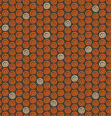 Abstract spiral pattern. Seamless decorative background with ethnic elements — Vetorial Stock