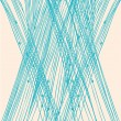 Blue linear net pattern — Wektor stockowy #26705423