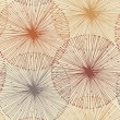 Sandy and orange radial elements. Seamless background for patterns, cards, textile, wallpapers, web pages — Imagen vectorial