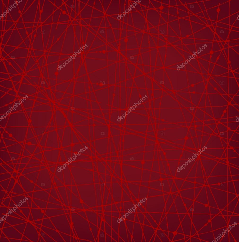 Textura Lineal Red Rojo Con Puntos. Fondo De Fondos De