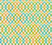 Wzór geometryczny multicolor bezszwowe — Wektor stockowy