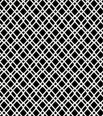 Seamless black and white geometric netting pattern. Grating background. Grate, lattice — Stock Vector
