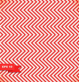 Decorative rustic christmas pattern in traditional holiday colors. Red and white seamless abstract background — Stock Vector