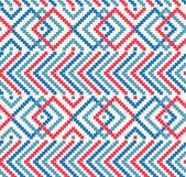 Decorative rustic pattern — Stock Vector