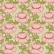 Seamless pattern with flowers — Vettoriale Stock #26779463