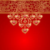 Valentines day greeting card. — Vetorial Stock