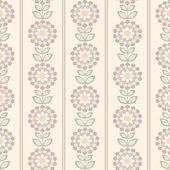 Bezešvé květinovým vzorem. — Stock vektor