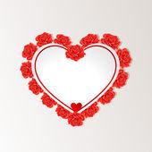 バレンタインの日グリーティング カード — ストックベクタ