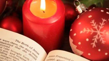 Christmas story — Stock Video