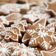 Close-up of Christmas gingerbread cookies — Stock Photo #26174985