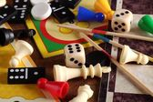 Detail of board games — Stock Photo