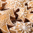 Close-up of Christmas gingerbread cookies — Stock Photo #26419629
