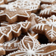 Close-up of Christmas gingerbread cookies. — Stock Photo #26712369