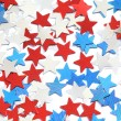 Red, white and blue stars — Stock Photo #26873655