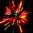 Abstract Christmas lights — Stockfoto