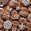 Easter gingerbread cookies — Stock Photo
