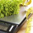 Electronic kitchen scale  — Stock Photo