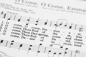 Songbook with Christmas carols. — Stock Photo