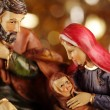 Stock Photo: Nativity scene - close-up of Christmas decoration.