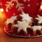 Cinnamon stars - Christmas cookies — Stock Photo #28988043