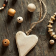 Wooden beads and accessories — Stock Photo #31957771
