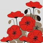 Постер, плакат: Poppies