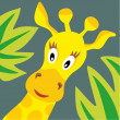 Giraffe head. — Stock Vector