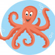 Cute octopus — Stock Vector #38946541