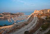 фортификации и гавань — Стоковое фото