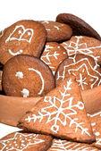 Homemade Christmas gingerbread — Stock Photo