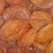 Stock Photo: Dried apricots, background