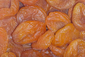 Dried apricots, background — Stock Photo