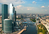 Skyscrapers of Moscow and views of the city — Foto de Stock