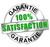 Icône satisfaction garantie — Stock Vector