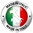 made in italy — Stock Vector